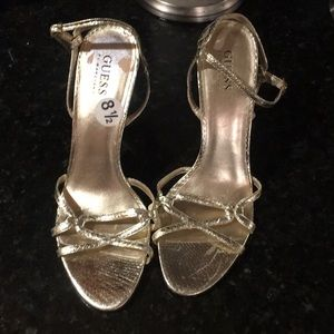 Guess heals size 8.5 they are banged up